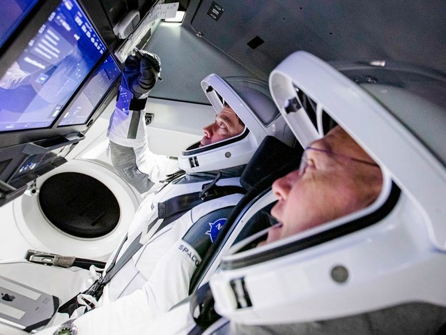 SpaceX is about to launch its riskiest and most critical mission to date. See how the rocket company hopes its first flight with NASA astronauts plays out.