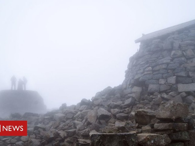 Soggy Ben Nevis can be remarkably dry