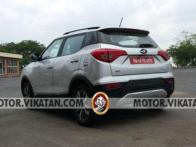 BS-VI Mahindra XUV300 takes shape