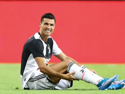 Injury rules Ronaldo out of final Juventus pre-season friendly