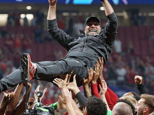 Watch: Hungry Klopp plans to build on Liverpool title win