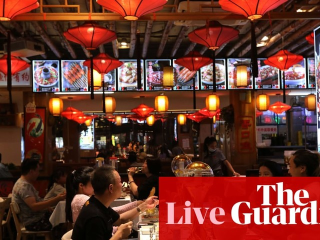 China's service sector shrinks, as markets await US payroll report – business live