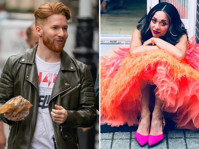 Katya and Neil Jones remove their wedding rings as they return to work on Strictly Come Dancing after split following Seann Walsh cheating scandal