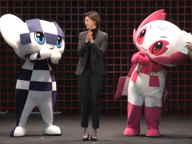 """Tokyo 2020 mascots attend ceremony before six-city """"Make the Beat!"""" tour"""