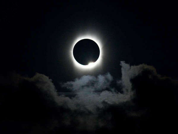 The Son Inside the Solar Eclipse
