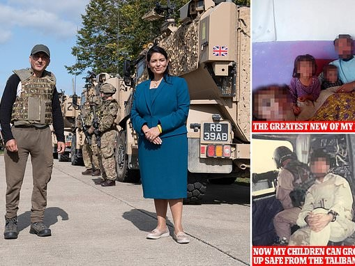 Brave translators who worked with our troops in Afghanistan are given sanctuary in Britain