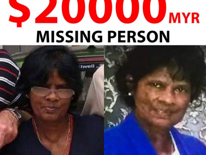 RM20k reward for critical info that can help find Annapuranee (Video)
