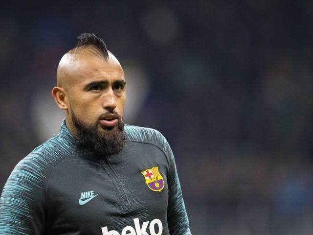 Vidal undergoing medical ahead of Inter move