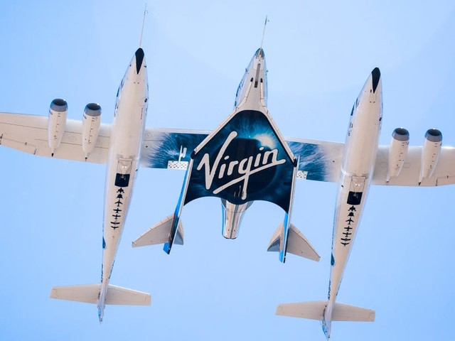 Watch live as Richard Branson flies to the edge of space aboard a Virgin Galactic rocket plane on Sunday