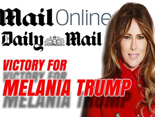 Victory for Melania Trump Over Mail