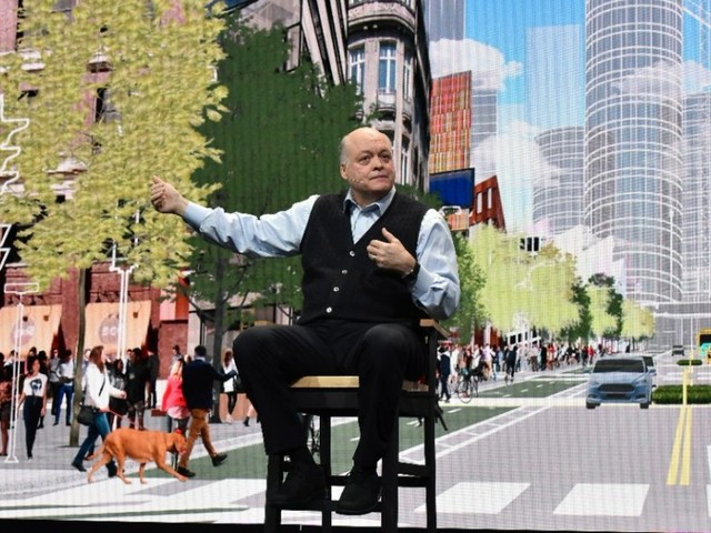 Ford CEO Jim Hackett reveals details about how he's reinventing the 114-year-old car company (F)