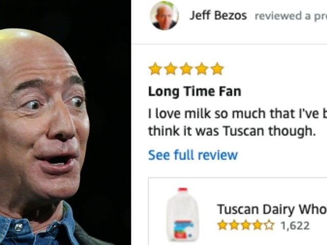 Before Jeff Bezos became the richest person on the planet, he used to write entertaining Amazon reviews. Read them here.