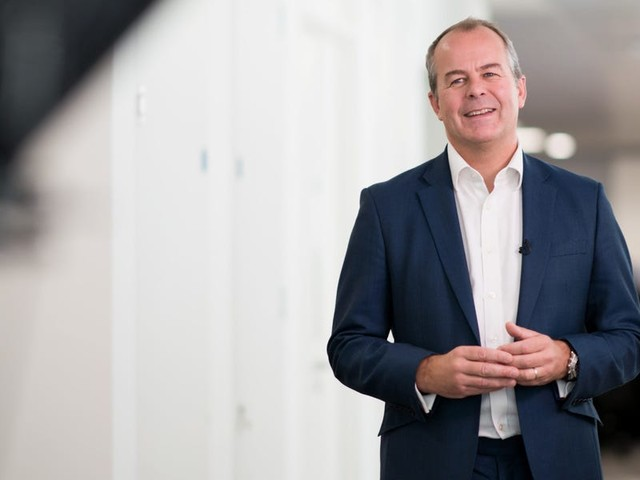 The CEO of Refinitiv says flexible working has boosted productivity and is here to stay at the $27 billion data giant: 'It's not going back to normal because I think attitudes have been changed.'