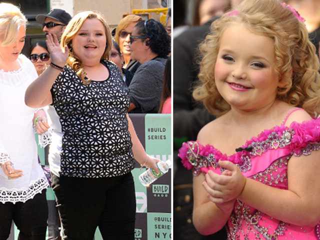 How did Honey Boo Boo get famous and how old was she?
