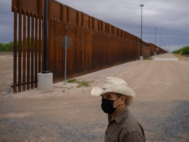 Biden administration cancels border wall contracts covering a 31-mile section in Texas