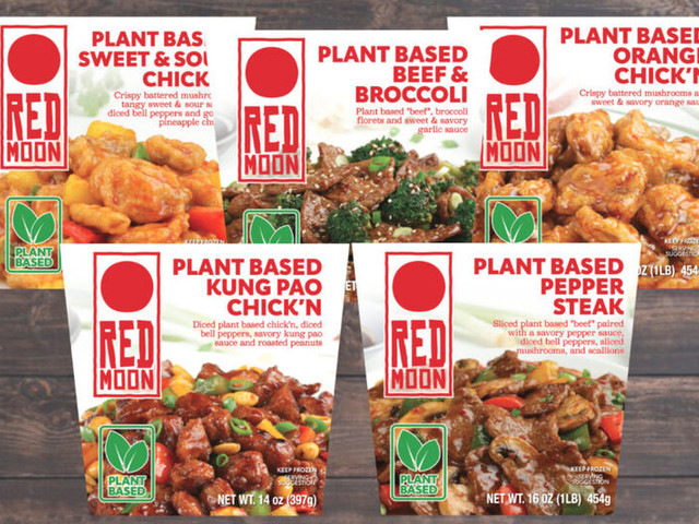 Plant-Powered Asian Entrees - Red Moon's Vegan Frozen Entrees are Made with Meatless Alternatives (TrendHunter.com)