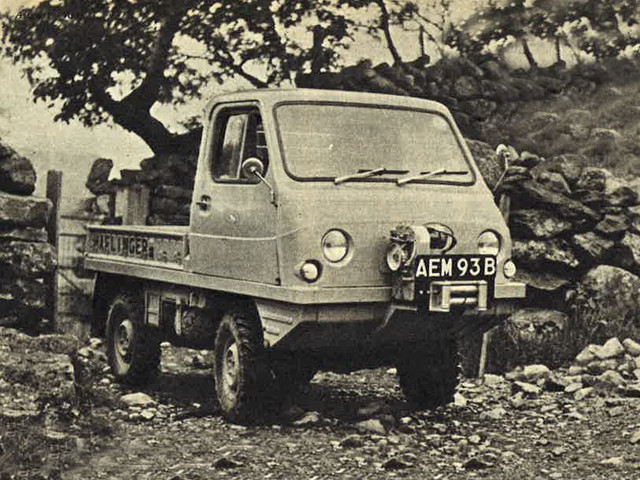 Throwback Thursday: off-road in the Steyr-Puch Haflinger, 1964