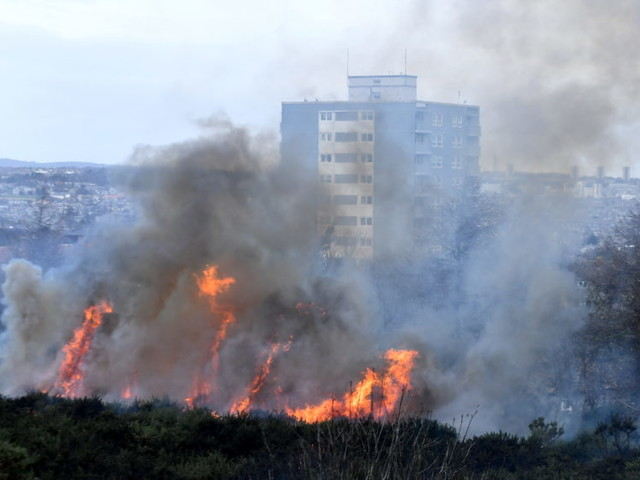 Video: Aberdeen fire crews called to blaze at the Gramps