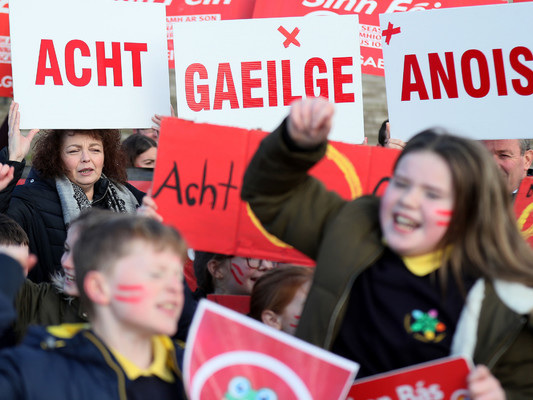'There's a deep-rooted hatred toward the indigenous culture of Ireland, above all its language'