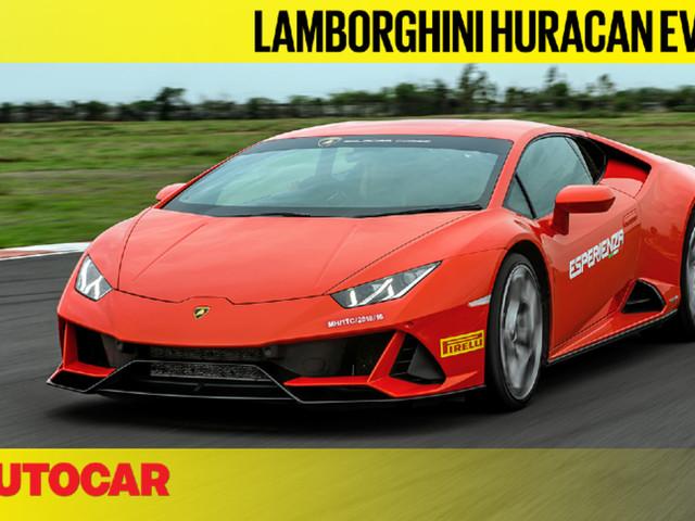 Review: Lamborghini Huracan Evo India video review