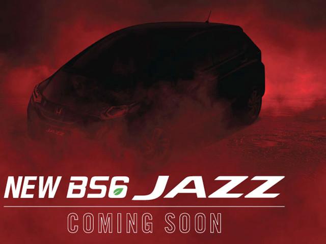 BS6 Honda Jazz teased