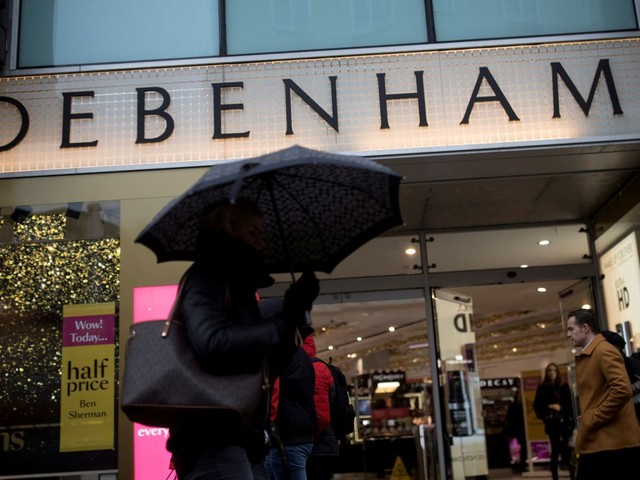 Debenhams on verge of £200m funding lifeline