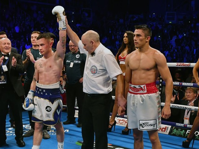 Carl Frampton targeting big fights in 2018 after first win under Jamie Moore