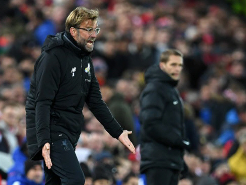 Klopp looks on bright side after Chelsea draw