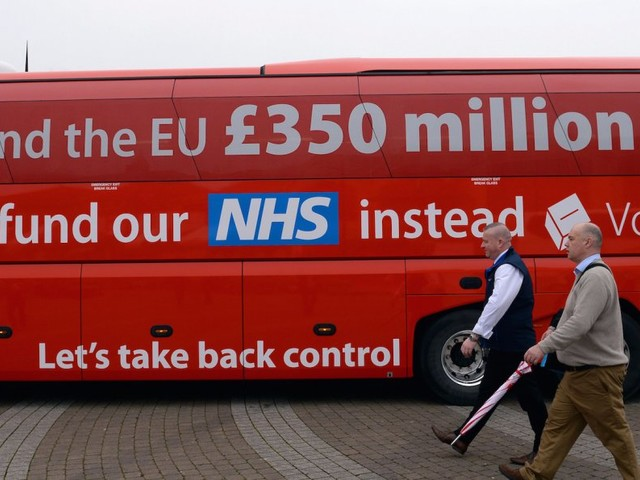 The NHS wants the money it was promised by the Brexit campaign