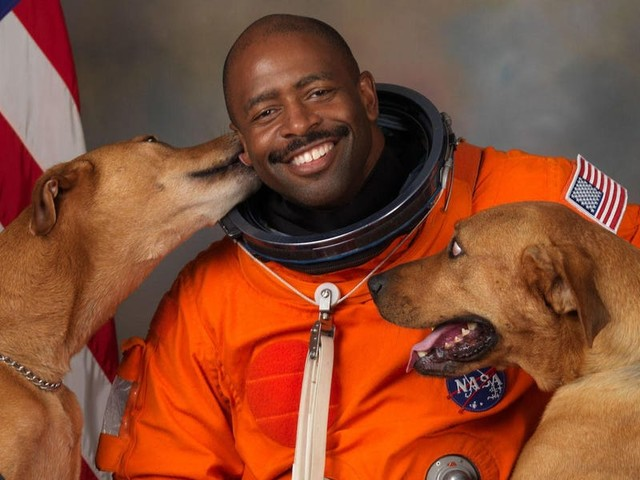 NASA astronaut Leland Melvin told Bill Nye that a police officer came close to ending his career before it even started