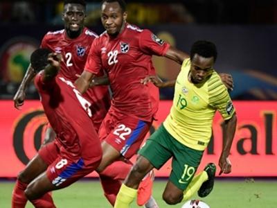 South Africa 1 Namibia 0: Zungu boosts Bafana Bafana's AFCON qualification hopes