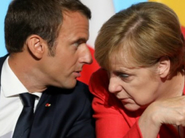 Macron's EU reforms could be tough sell for Merkel coalition
