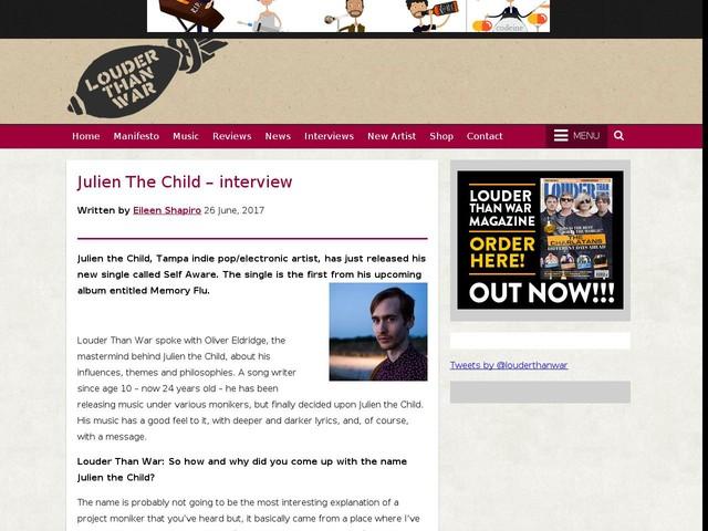 Julien The Child – interview