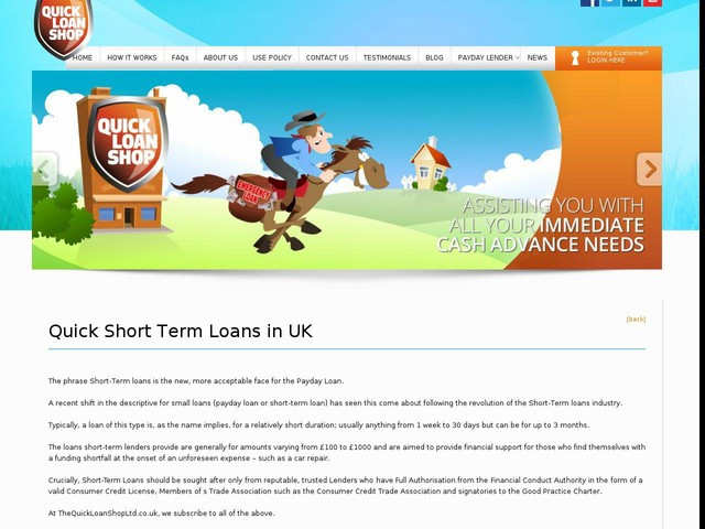 Short Term Loan | Trusted Payday Loans | Online Payday Lenders