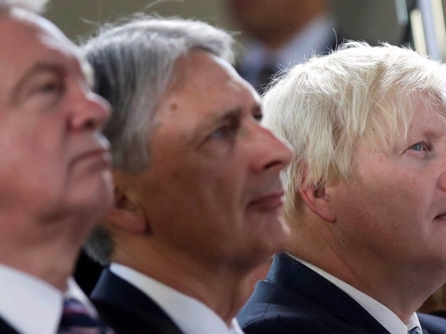 Philip Hammond and Boris Johnson are at war — and the Chancellor's supporters are calling Johnson 'simple minded'