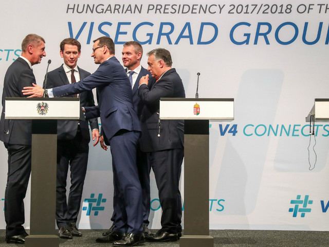 What is the Visegrad Group and why has its Israel summit been cancelled?
