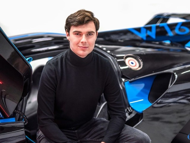 How this 27-year-old designer went from an intern to Bugatti's head of special projects in just 5 years