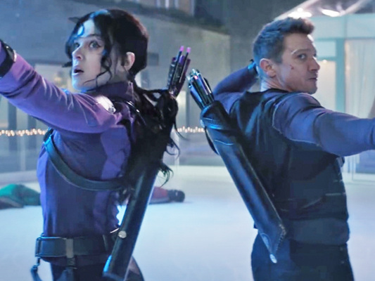 It's 'Hawkeye' For The Holidays In Disney+ Trailer With Hailee Steinfeld Entering The MCU