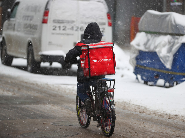 NYC passes landmark bills to protect delivery workers