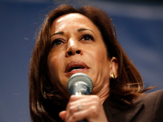 'They would have no choice': Kamala Harris says her administration's DOJ would bring criminal charges against Trump