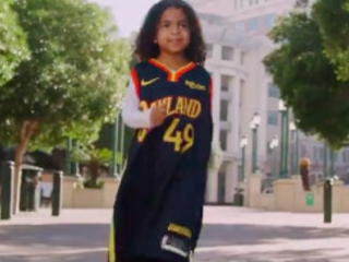 The Warriors honored Oakland native Kamala Harris with a moving video