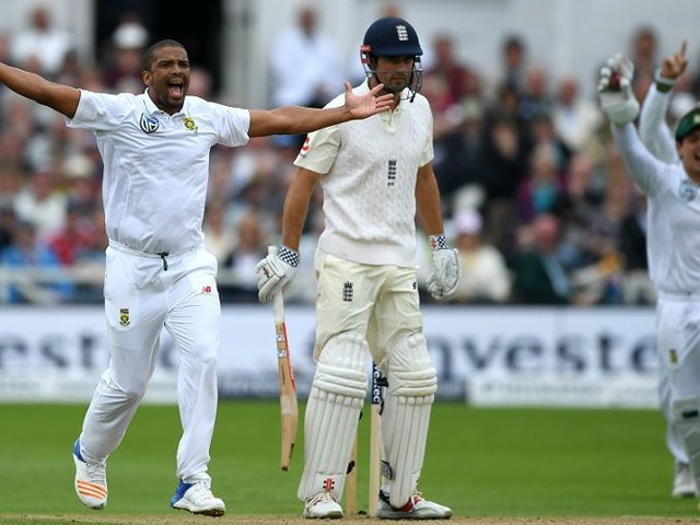 Philander ruled out of first Test against Bangladesh