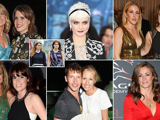 Could these stars be among Princess Eugenie's bridesmaids?