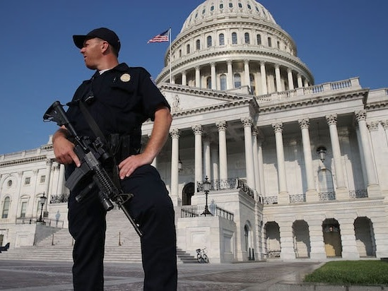 Capitol Police Officer Killed, Another Injured After Car Rams Into Police Barricade