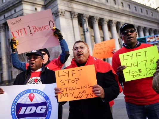 Lyft's driver wage lawsuit in NYC continues