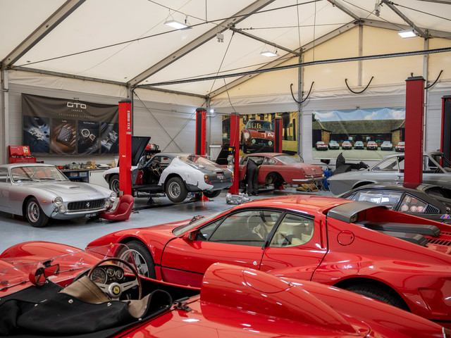Rebuild, restore, renew: Inside Ferrari experts GTO Engineering