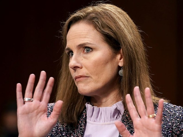 Amy Coney Barrett won't say if climate change is human caused, stating she's not 'competent to opine' on the matter