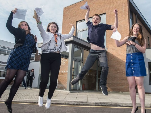 A Level results revealed in Wirral schools for 2017