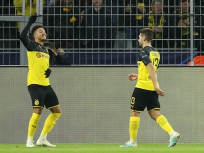 Borussia Dortmund 2-1 Slavia Prague: Sancho and Brandt seal last-16 spot