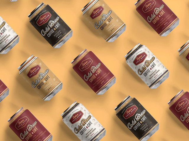 Canned Cold Brew Coffees - Station Cold Brew's Products are Handcrafted, High-Quality and Dairy-Free (TrendHunter.com)